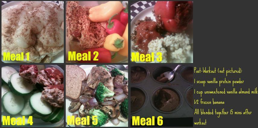 Sample Meal Plan 6