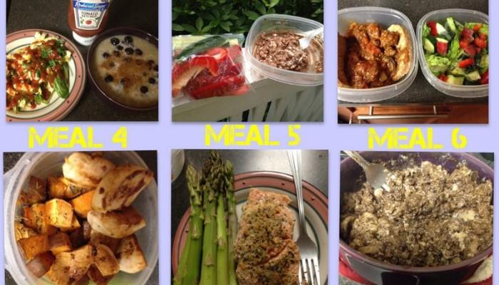 Sample Meal Plan 8