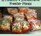 11 Healthy & Inexpensive Freezer Meals!
