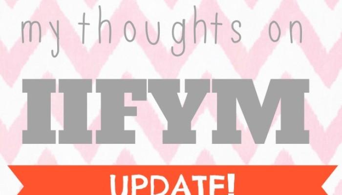IIFYM Update