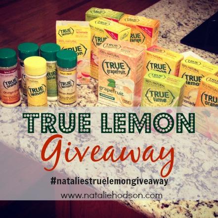 True Lemon Giveaway
