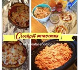 Healthy Crockpot Buffalo Chicken!