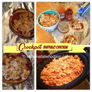 Crockpot Buffalo Chicken