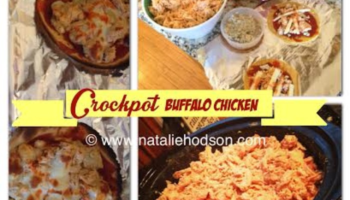 healthy crock pot buffalo chicken recipe