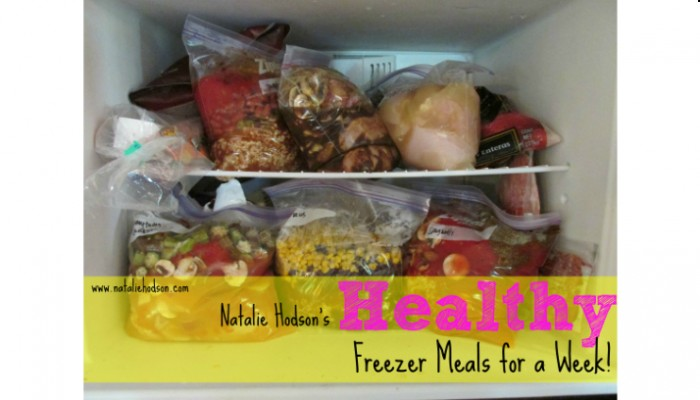 Healthy Freezer Meals for a Week!