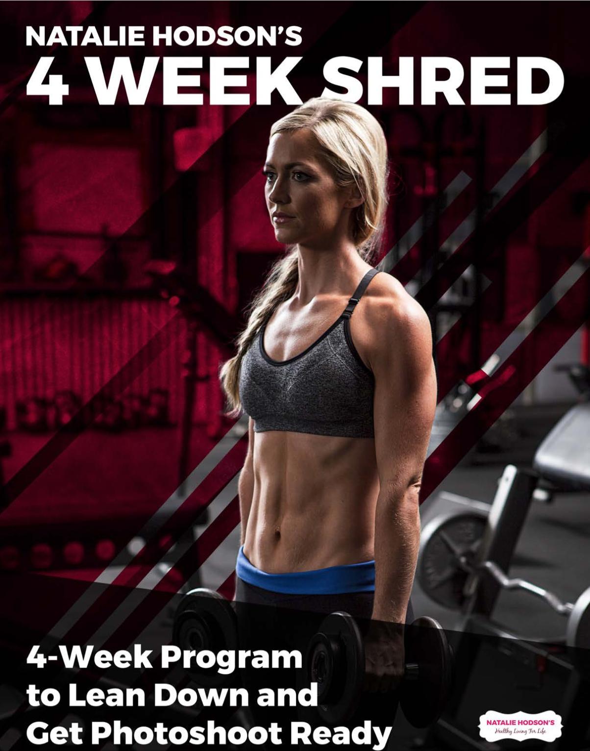 4 week shred cover img
