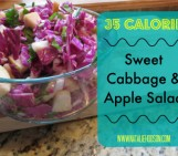 Sweet Cabbage & Apple Saladsmall