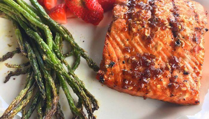 Healthy Salmon recipe