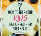 Help your kids eat a healthy breakfast