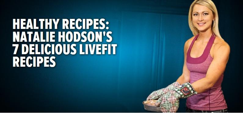Natalie shares her favorite LiveFit recipes in the Bodybuilding.com kitchen