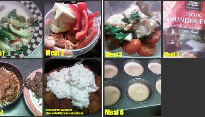 Low Carb Sample Meal Plan