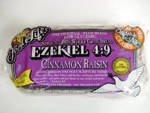 Why is Ezekial Bread good for you?