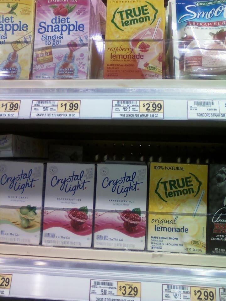True Lemon – Healthier Alternative to Crystal Light