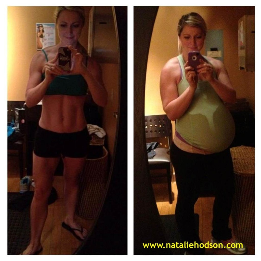 Showing and talking about how your body changes during pregnancy. 39 weeks pregnant and embracing the changes!  This soon to be mom-to-2 has workout tips and clean eating recipes/meal plans for free!  www.nataliehodson.com