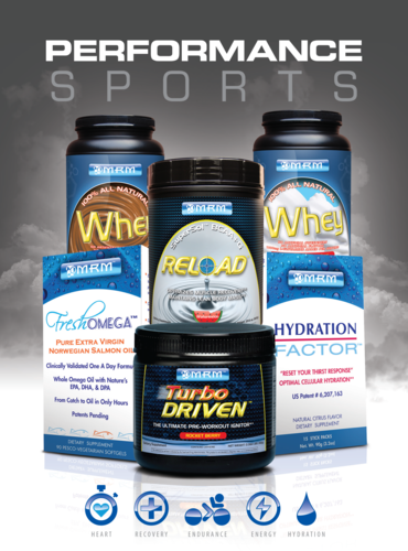 MRM Free Samples Sports Performance Kit