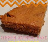 Pumpkin Oatmeal Bake By Natalie Hodson