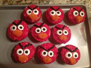 Angry Birds Cupcakes2