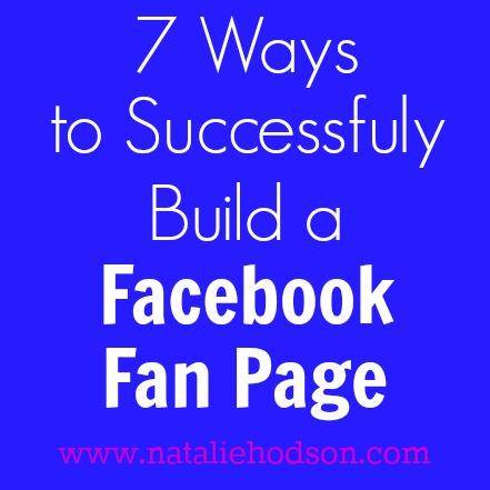 Natalie Hodson Facebook Fan Page
