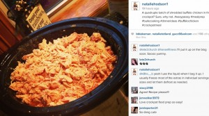 Crockpot Buffalo Chicken Instagram