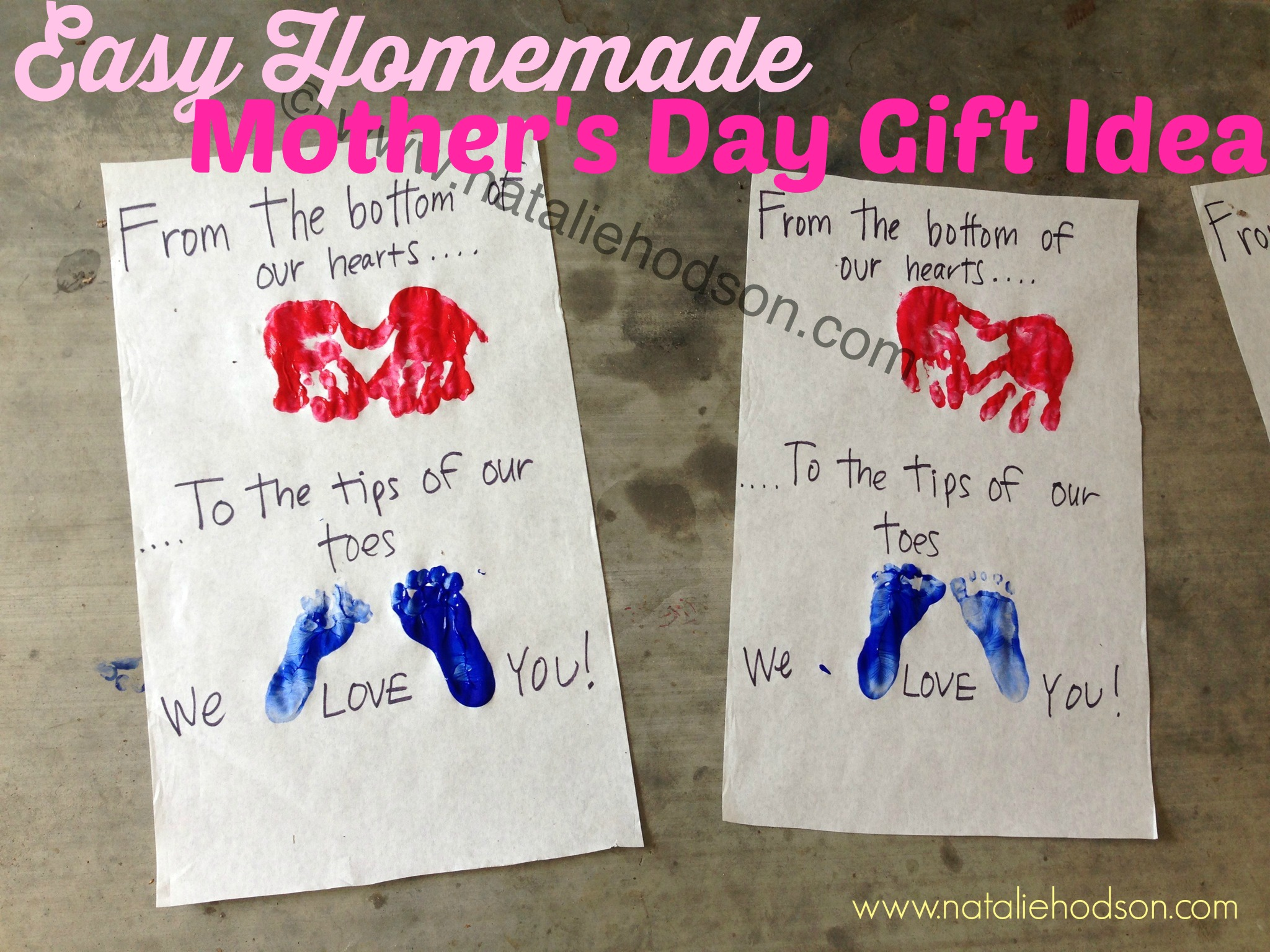 Easy, Homemade Mother\'s Day Gift Idea | Natalie Hodson