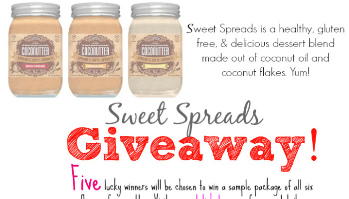 Sweet Spreads Giveaway