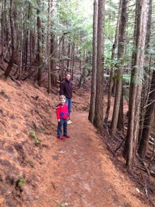 Hiking to Snow Creek Falls in Bonners Ferry, ID