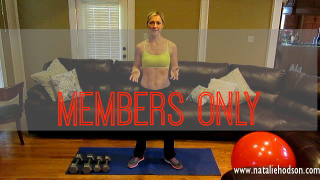 Members Only Workout