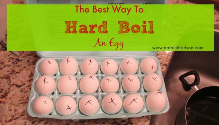 Hard Boil an Egg