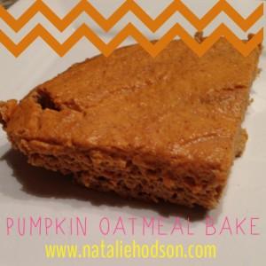 Pumpkin-Oatmeal-Bake
