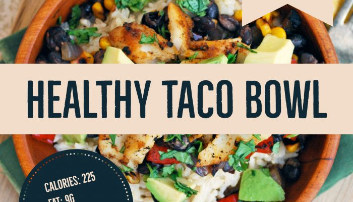 Healthy Taco Bowl Recipe
