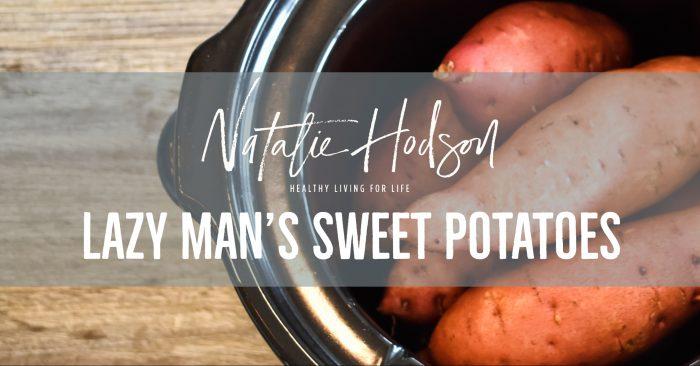 Lazy man sweet potato